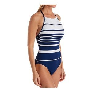 Lauren Ralph Lauren Striped Bathing Suit 8
